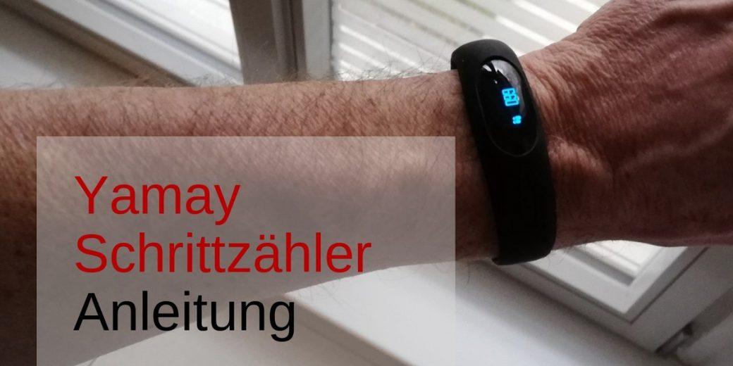 Yamay Schrittzähler Armband Ohne Bluetooth Schrittzähler Test